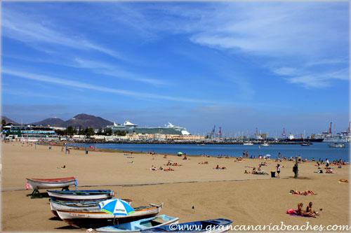 Alcaravaneras Gran Canaria beach