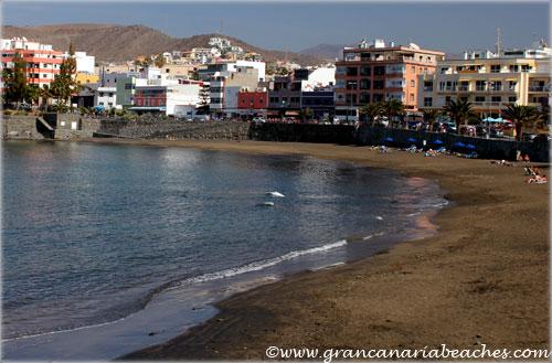 Playa De Arguineguin A Small Cozy Beach In A Fishing Village