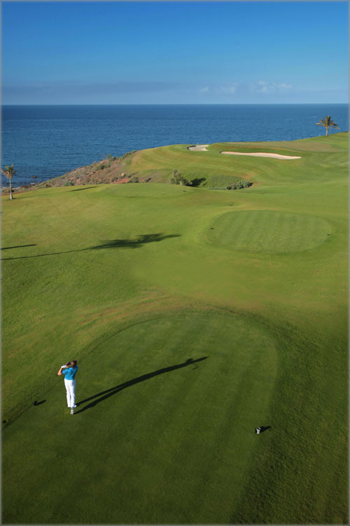 Meloneras golf course in Gran Canaria