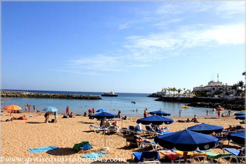Mogan Gran Canaria beach
