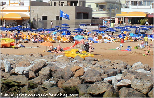 Mogan beach in Gran Canaria