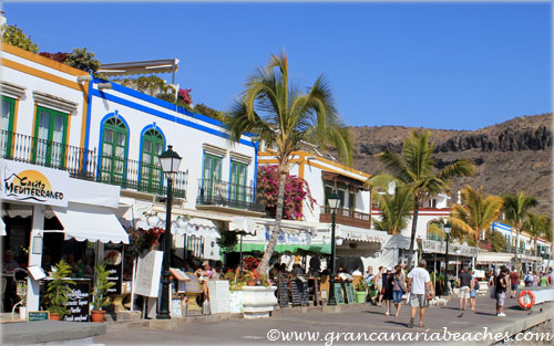 Picturesque houses of Mogan in Gran Canaria