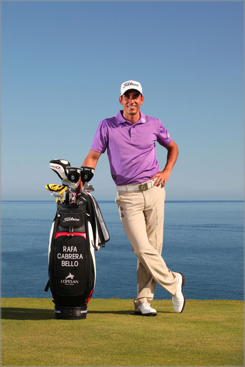 Rafael Cabrera at the Meloneras golf course in Gran Canaria