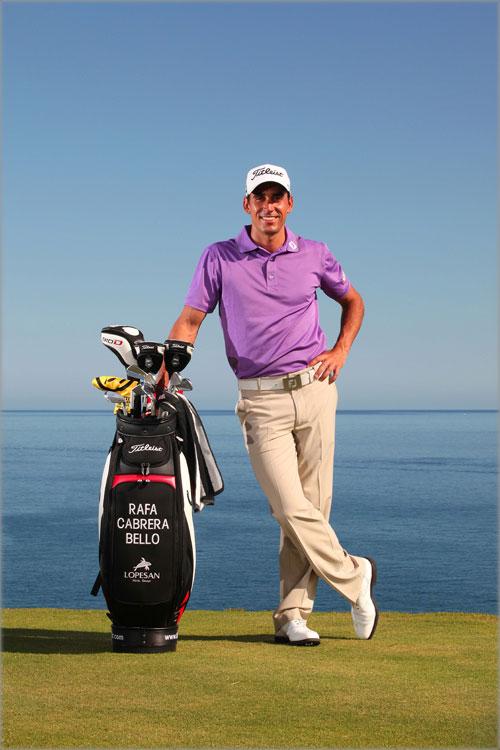 Rafael Cabrera at the Meloneras golf course in Gran Canaria